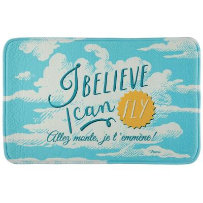 Tapis de bain I believe i can fly